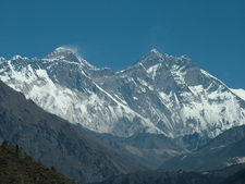 Glorious View Of The Peaks In Namche