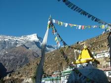 Namche Stupa