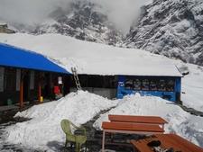 Ganga Purna View Lodge New Snow