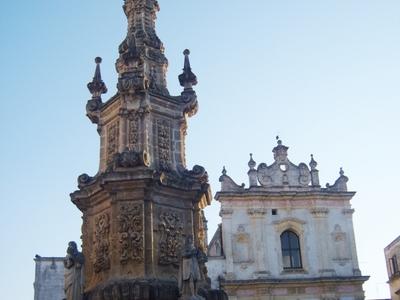 Column In Piazza Salandra