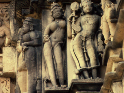Khajuraho  Devi  Jagadambi Apsara