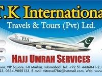 TK International Travels & Tours - Pvt Ltd