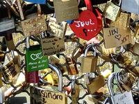 Different Locks On The Bridge Of Love