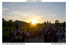 Sun Rise At Angkor Wat Temple 02