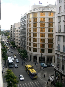 The Busy Central Patission Street