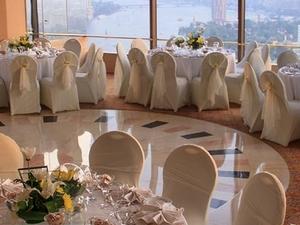 Windows On The World Wedding Set Up