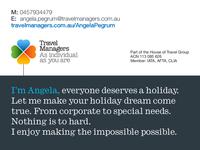 Travel Managers - Angela Pegrum