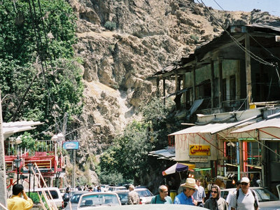 The Foot Of Darband's Popular Hiking Trail In Tehran