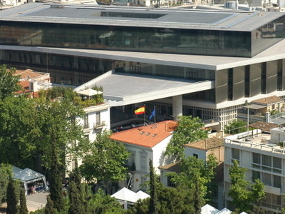 Top Level Of The Acropolis Museum