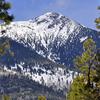 Agassiz Peak In Winter
