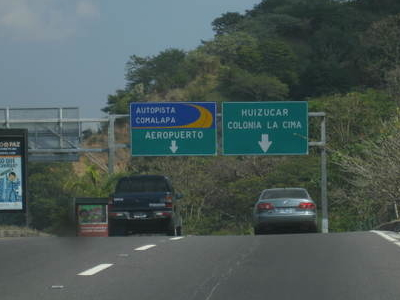 RN-5 To The Airport And La Cima