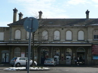 Aldershot Rail Station