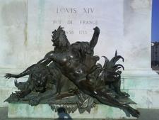 Allegorical Statue Of The Rhône