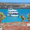Anchored Off North & South Plaza Island - Galapagos Ecuador