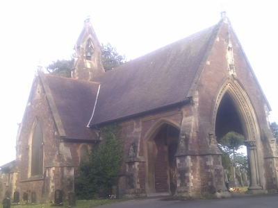 View Of The Disused Anglican Chapel