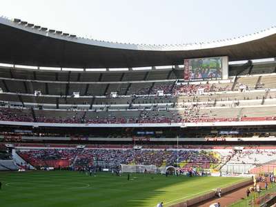 An Internal View Of Estadio Azteca