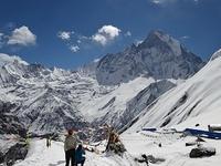 Annapurna Sur Glaciar
