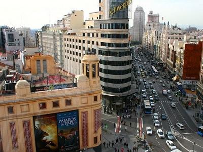 Años De Gran Vía In Madrid