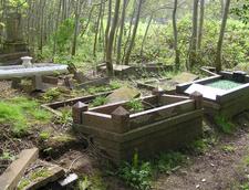 Broken Graves Awaiting Restoration