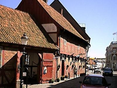 A Street In Central Ystad
