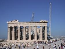 Athen Baustelle Akropolis