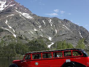 At Two Medicine Campground - Glacier - Montana - USA