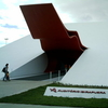 Entrance To Ibirapuera Auditorium