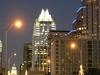 Austin From  Congress  Bridge  At Night