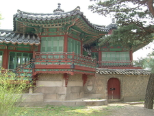 A View Of Changdeokgung In The Neighborhood