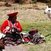 A Women In Peru