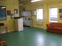 The Green Room Of An Grianán Theatre