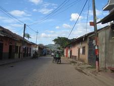 A Street In El Sauce