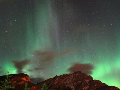 Aurora At Banff
