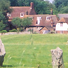 Avebury Henge And Village U K