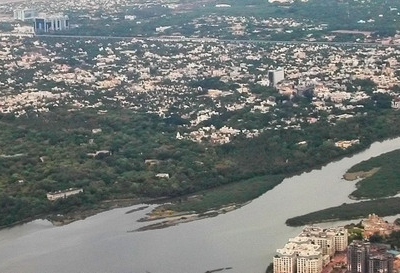 A View Of Adyar And Adyar Estuary