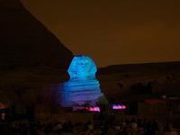 Sound & Light; Show at Pyramids