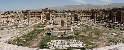Baalbek Panorama - Lebanon