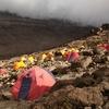 Barafu Camp On Machame Route - Kilimanjaro Tanzania
