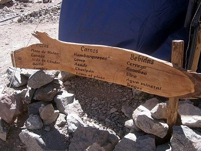 Bar At Plaza De Mulas Base Camp - Aconcagua Argentina