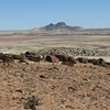 Barren Patagonian Desert