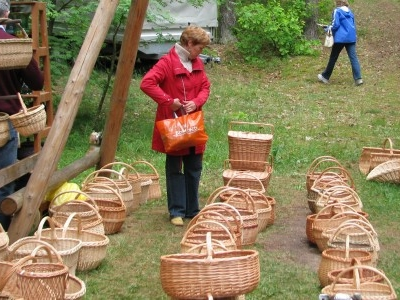Baskets At The Museum
