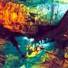 Beautifully Lit Borra Caves