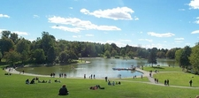 Beaver Lake On Mount Royal