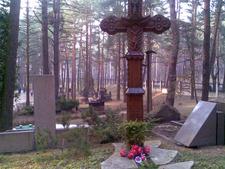 A Traditional Cross At Petrasiunai Cemetery