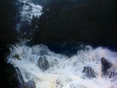 Bjørnåa River And Falls