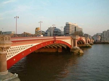Blackfriars Bridge Viewed From Upstream