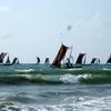 Boats Near Negombo Beach