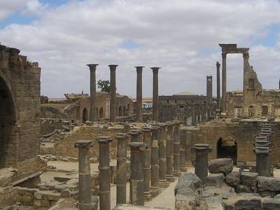 Bosra   Ruins