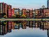 Boston Back Bay Reflection