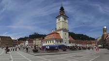 Brasov Council Square Panorama